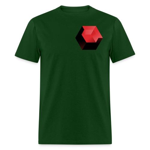 210 : forest green - Men's T-Shirt