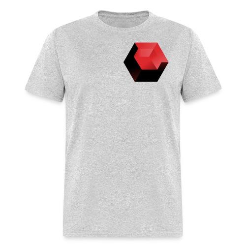 210 : heather gray - Men's T-Shirt