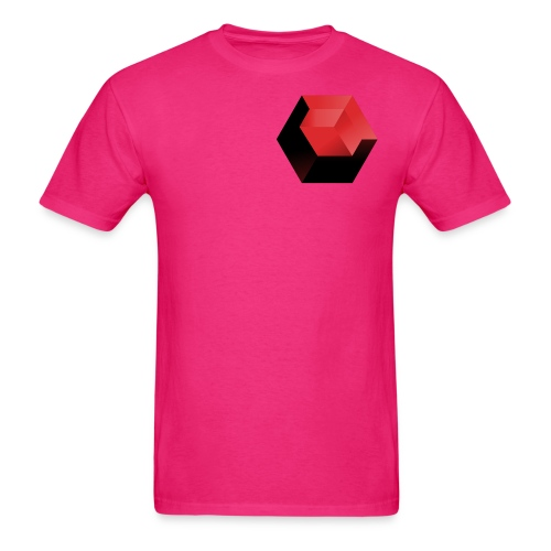 210 : fuchsia - Men's T-Shirt