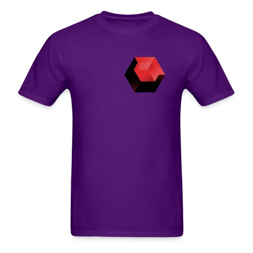 210 : purple - Men's T-Shirt