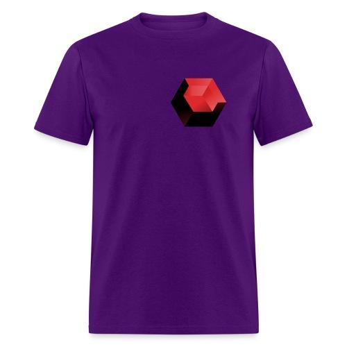 210 : purple - Men's T-Shirt