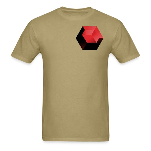 210 : khaki - Men's T-Shirt
