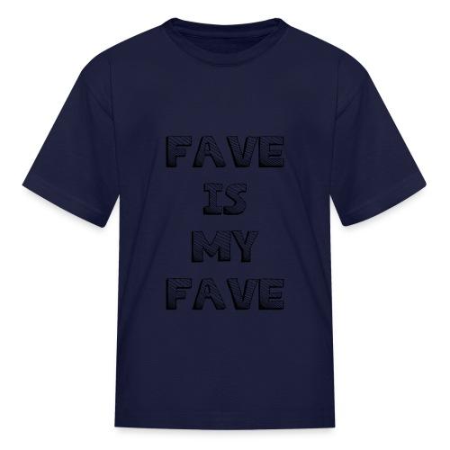 48 : navy - Kids' T-Shirt