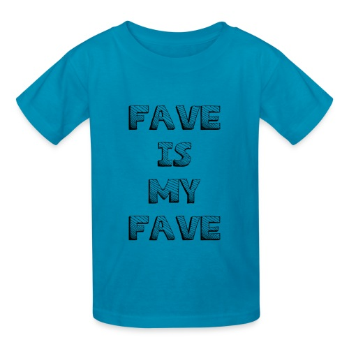 48 : turquoise - Kids' T-Shirt