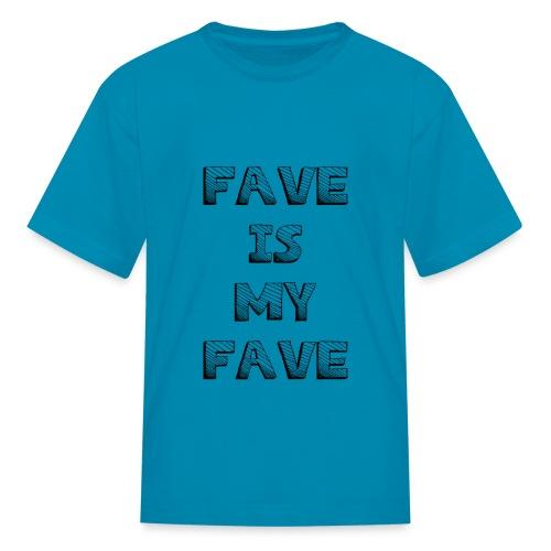 48 : turquoise - Kids' T-Shirt