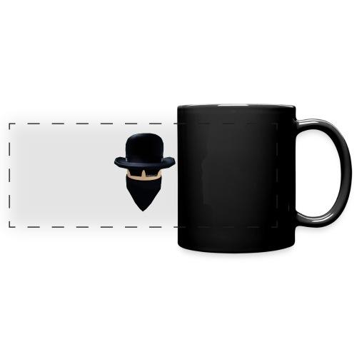 1134 : black - Full Color Panoramic Mug