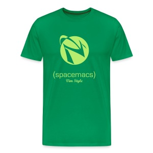 Spacemacs Editing Style - Vim - Men's Premium T-Shirt