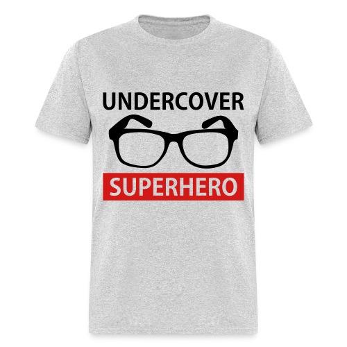 Undercover Superhero Men T-shirt - Men's T-Shirt