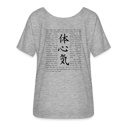Shut up and Train Martial Arts Women  - Women's Flowy T-Shirt