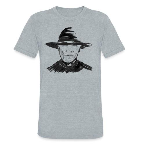 Man In Black Tri Blend T - Unisex Tri-Blend T-Shirt