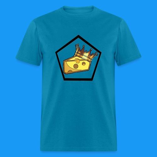 King Cheesy Logo Pentagon T - Men's T-Shirt