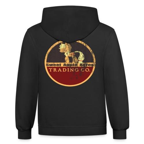 SweetApple Trading .Co Retro Hoodie - Contrast Hoodie