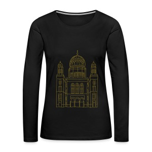 New Synagogue Berlin - Women's Premium Long Sleeve T-Shirt
