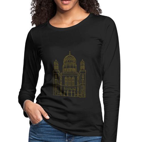 New Synagogue Berlin - Women's Premium Long Sleeve T-Shirt