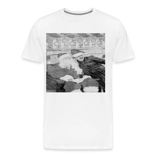 Tj and santa - Men's Premium T-Shirt