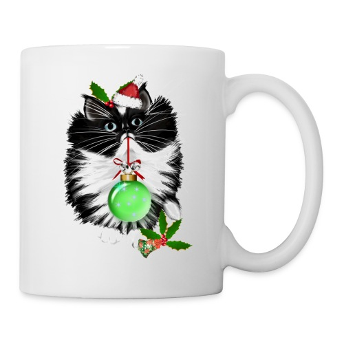 Merry Christmas to my lovely cat that I love dearly. Cat deserve to be loved too! - Coffee/Tea Mug