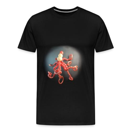 Octopus balloon art t-shirt - Men's Premium T-Shirt