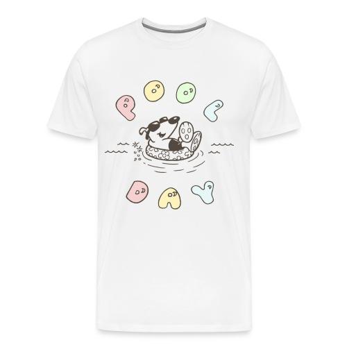 lucky cotton treat 1 [front only] - Men's Premium T-Shirt