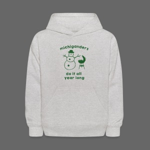 Michiganders do it all year long - Kids' Hoodie