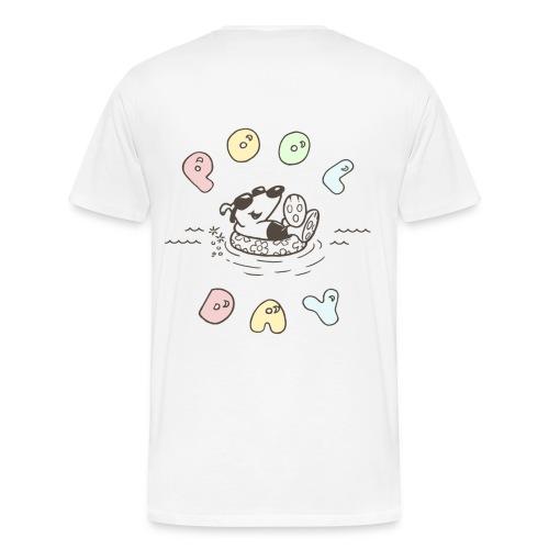 lucky cotton treat 2 [front y back] - Men's Premium T-Shirt