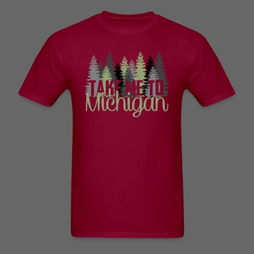 Take Me To Michigan - Men's T-Shirt