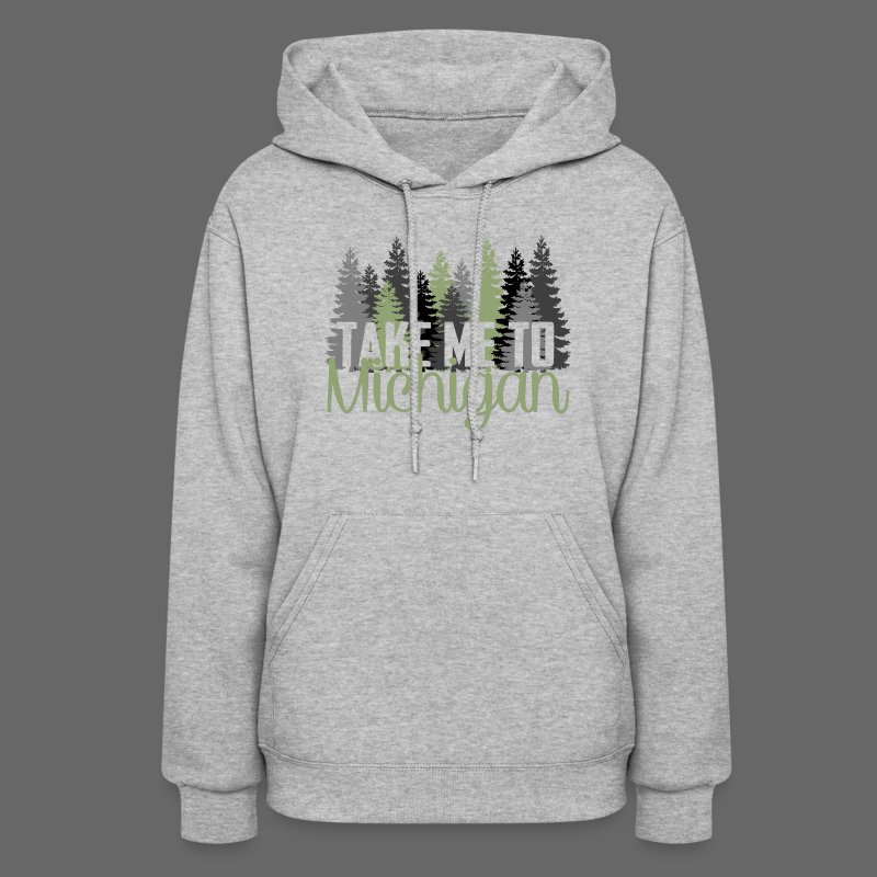 Take Me To Michigan - Women's Hoodie
