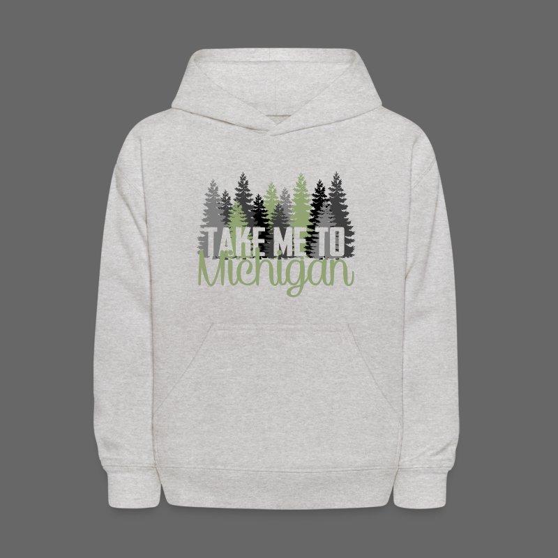 Take Me To Michigan - Kids' Hoodie