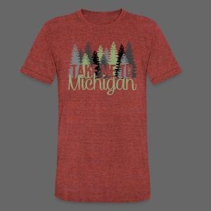 Take Me To Michigan - Unisex Tri-Blend T-Shirt
