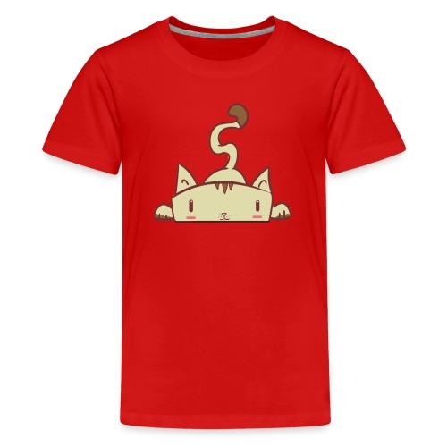 Kid's T-shirt with kitty design - Kids' Premium T-Shirt