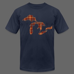 Take Me To Michigan - Men's T-Shirt by American Apparel