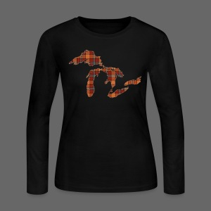 Take Me To Michigan - Women's Long Sleeve Jersey T-Shirt
