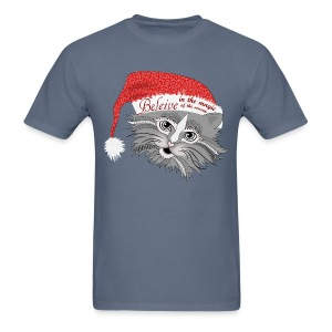 Christmas Kitty Men's T-Shirt from South Seas Tees - Men's T-Shirt