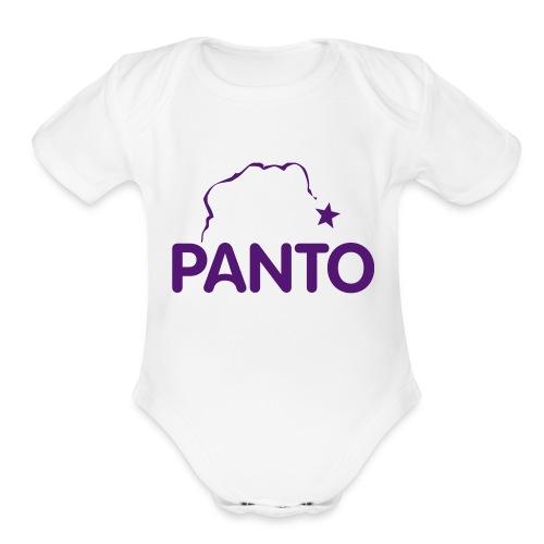 Panto Onsie - Organic Short Sleeve Baby Bodysuit