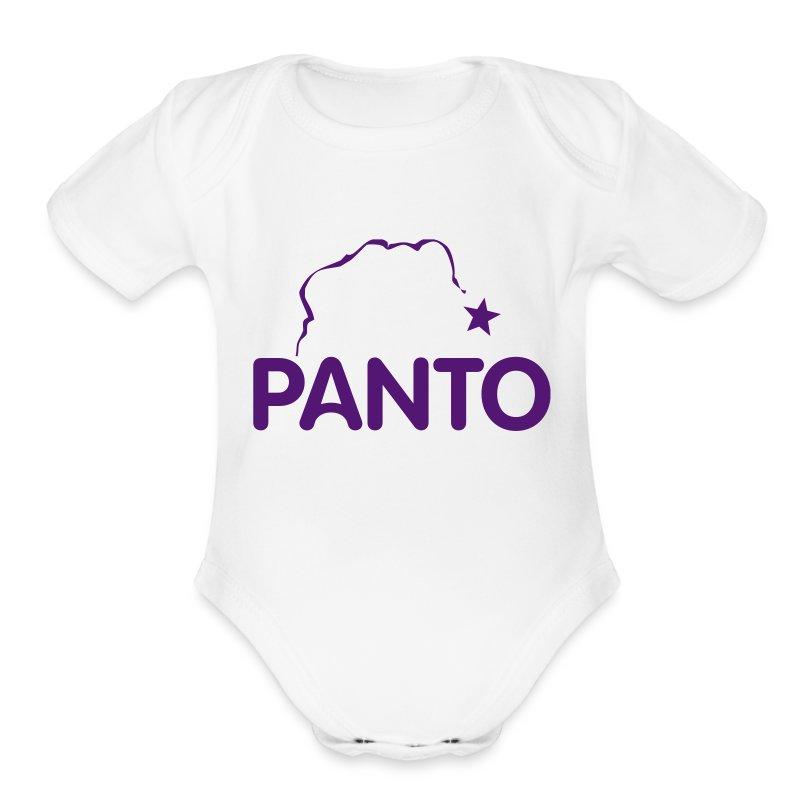 Panto Onsie - Short Sleeve Baby Bodysuit