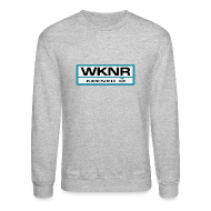 Long Sleeve Shirts ~ Crewneck Sweatshirt ~ WKNR Keener - Detroit