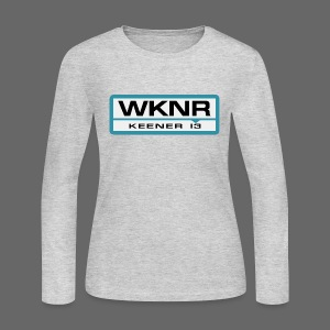 WKNR Keener - Detroit - Women's Long Sleeve Jersey T-Shirt