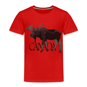 Canada Moose Souvenir Shirts Kid's T-shirt - Toddler Premium T-Shirt