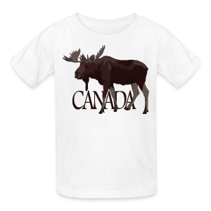 Canada Moose Souvenir Shirts Kid'sT-shirts - Kids' T-Shirt