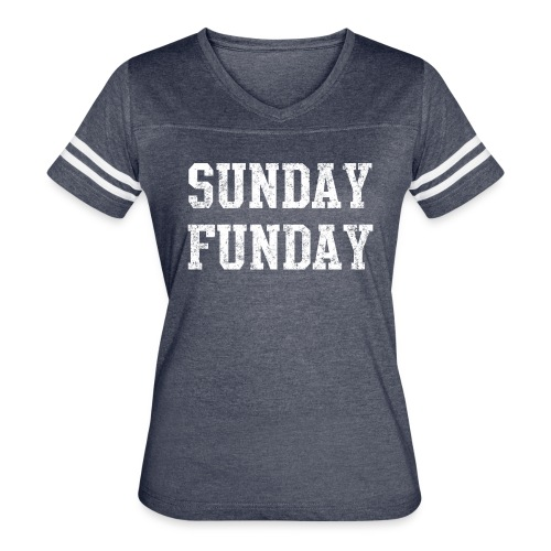 Sunday Funday - Women's Vintage Sport T-Shirt