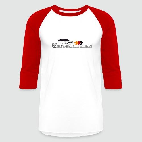 ExplorerNation Men's Baseball Tee - Baseball T-Shirt
