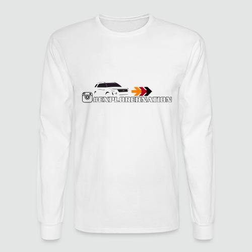 ExplorerNation Men's Long Sleeve Tee - Men's Long Sleeve T-Shirt