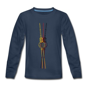 Berlin TV Tower  - Kids' Premium Long Sleeve T-Shirt