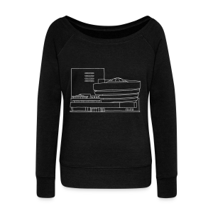 Guggenheim Museum New York - Women's Wideneck Sweatshirt