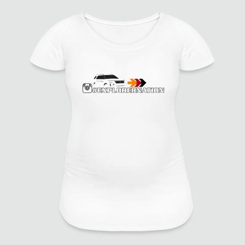 ExplorerNation Maternity Tee - Women's Maternity T-Shirt