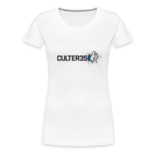 Women's Black Culter35 Logo T-Shirt - Women's Premium T-Shirt