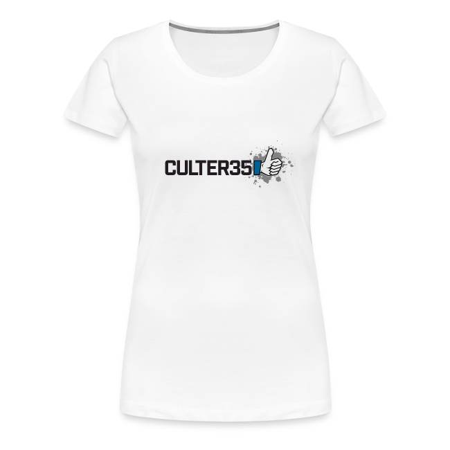 Women's Black Culter35 Logo T-Shirt