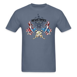 Resistance Tattoo - Men's T-Shirt