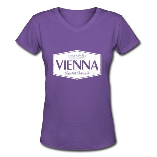 Vienna V-Neck (W) - Women's V-Neck T-Shirt