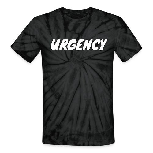 Unisex Urgency Sketch Tie Dye T-Shirt - Unisex Tie Dye T-Shirt