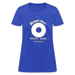 Bagel Man (Womens) - Women's T-Shirt